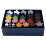 【新登場】カラバリを楽しめる!Feutre 24 colors set+貝パーツ3colors